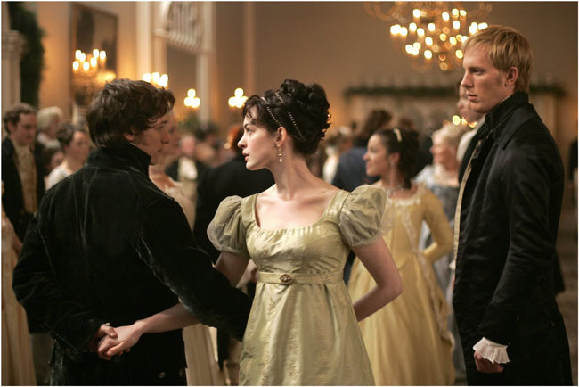 James McAvoy- Anne Hathaway