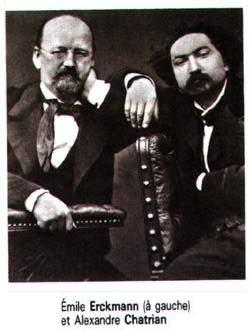 Emile Erckmann et Alexandre Chatrian