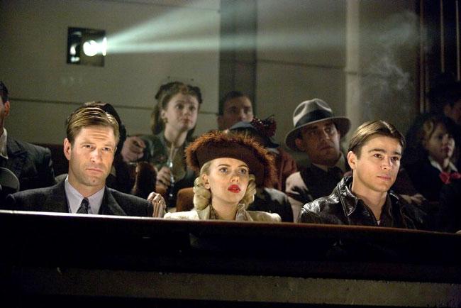 Aaron Eckhart, Scarlett Johansson et Josh Hartnett